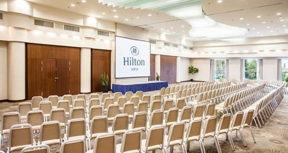 Hilton Sofia conference room 2