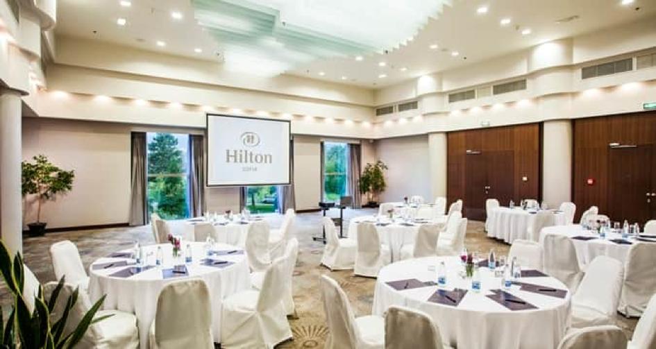 Hilton Sofia conference room