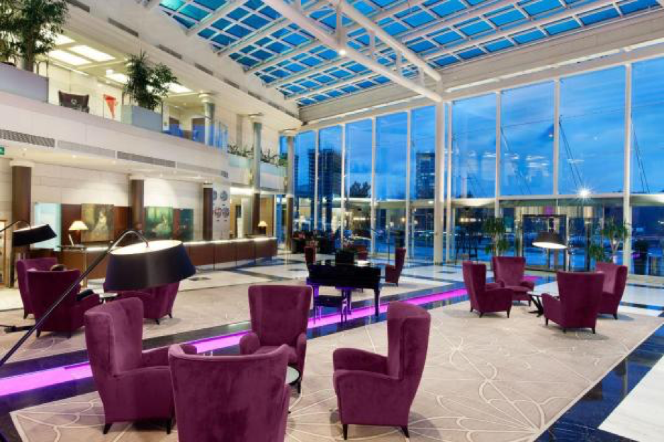 Hilton Sofia lobby